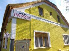 Panzió Tiszasas, Familia Panzió