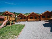 Accommodation Barajul Zetea, Riverside Wooden houses