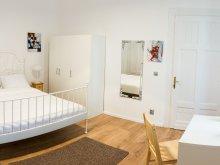 Accommodation Delureni, White Studio Apartment