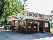 Camping Csabacsűd, Ștrand și camping Sziksósfürdő