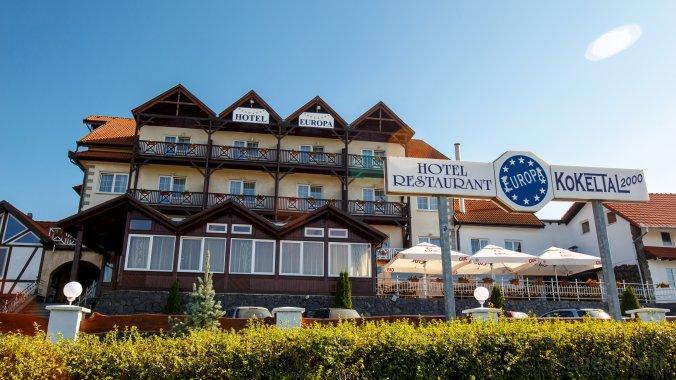 Hotel Europa Kokeltal Albesti