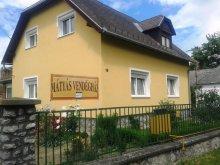 Accommodation Mikosszéplak, Mátyás Guesthouse