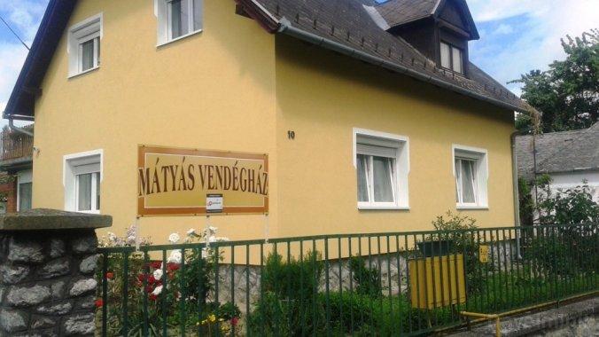 Mátyás Guesthouse Egyházasrádóc
