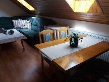 Apartman Balatonkeresztúr, KE-12: Úszómedencés igényesen berendezett nyaralóház 4 fős apartmanja