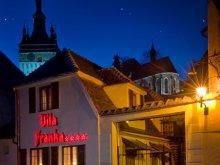 Hotel Sepsiszentgyörgy (Sfântu Gheorghe), Tichet de vacanță, Hotel Vila Franka