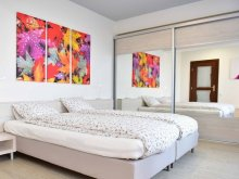 Accommodation Sibiel, Colours Red Apartment
