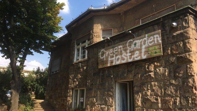 Hostel Green Garden Budapesta
