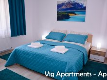 Apartament Corbești, Apartament Vig