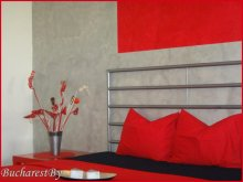 Accommodation Bălteni, Red Studio Apartment