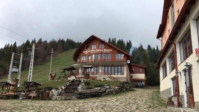 Alpina Blazna Panzió Șanț