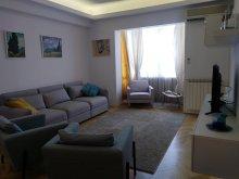 Accommodation Nenciulești, Black & White Apartment