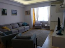 Accommodation Stâlpu, Black & White Apartment