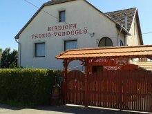 Apartament Tiszatelek, Pensiunea Kisdiófa