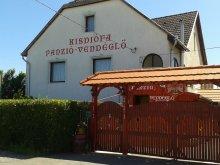 Pensiune Záhony, Pensiunea Kisdiófa