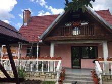 Cabană Bârgăuani, Casa de oaspeți Éva