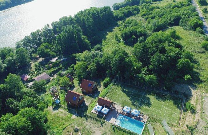 Villa 2 Comoara Istrului Turisztikai Komplexum Țigănași
