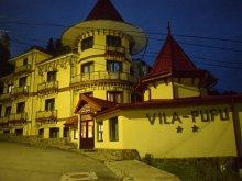 Szállás Șerbești, Pufu Villa