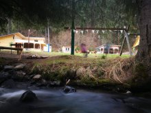 Camping Ştrand Termal Perla Vlăhiţei, Camping Fain