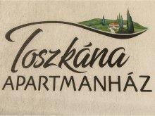 Szállás Cserépváralja, Toszkána Apartmanház
