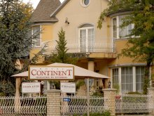 Bed & breakfast Rozsály, Continent Hotel and International Restaurant
