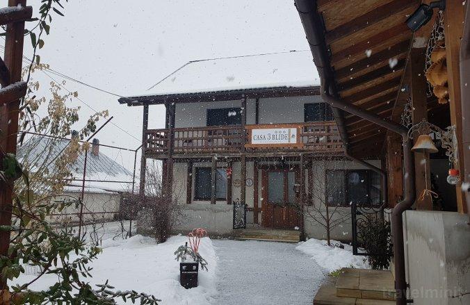 Casa 3 Blide Panzió Căciulești