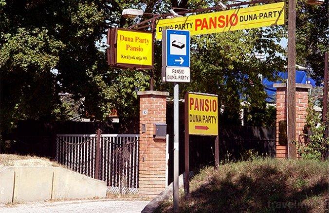 Duna-Party Pansio Budapest