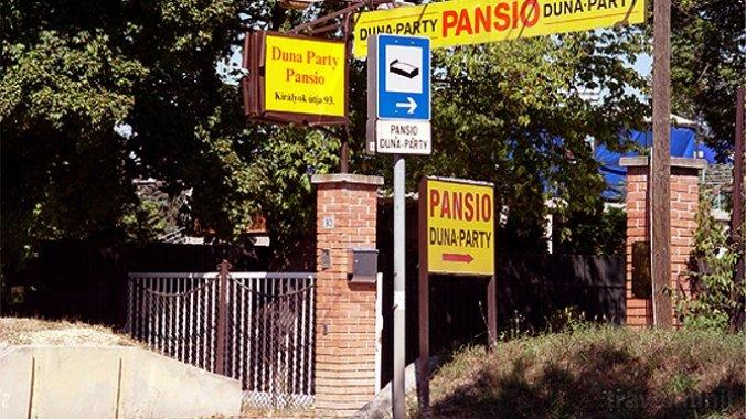 Duna-Party Pansio Budapesta