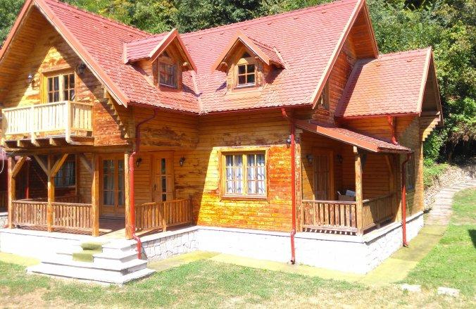 Vila Wood House Slănic Moldova