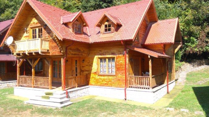 Wood House Villa Slănic Moldova