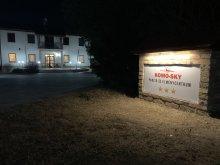 Pensiune Tiszaug, Centrul de aventuri și Pensiunea Komo-Sky