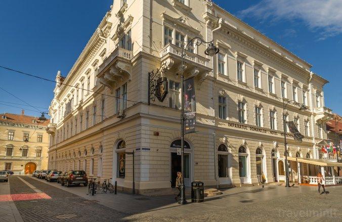 Imparatul Romanilor Hotel Nagyszeben