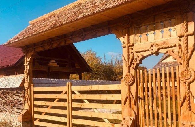 Casa Colț din Maramureș Ocna Șugatag