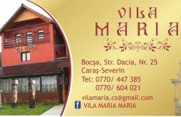 Accommodation Rovinița Mică, Maria Villa