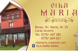 Szállás Rovinița Mare, Maria Villa