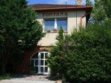 Cazare Máriahalom, Casa Fontana