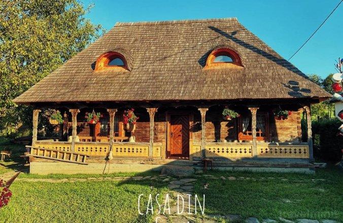 Casa din Susani Călinești