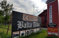 Pensiune Bălești, Conacul Balta Alba
