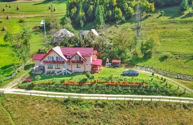 Casa cu Mușcate Nyaraló Topánfalva