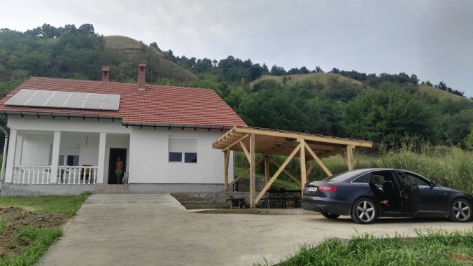 Clisura Dunării Vacation home Divici