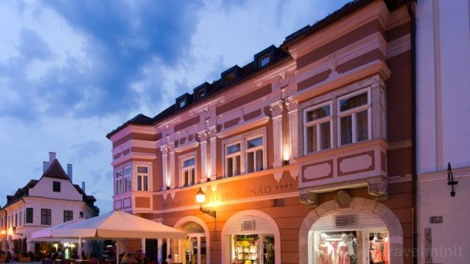 Barokk Hotel Promenad Gyor