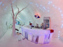 Hotel Lunca (Valea Lungă), Hotel of Ice