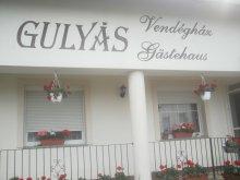 Casă de oaspeți Egyházasrádóc, Casa de oaspeți Gulyás