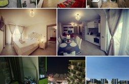 Szállás Sunwaves Fesztivál Mamaia Nord, Rossa Luxury Apartman