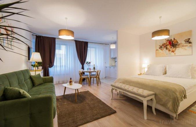 White Cloud Studio Apartment Brașov