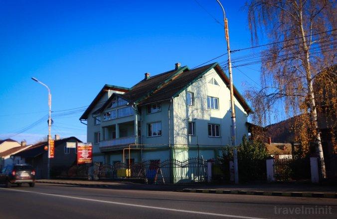 Casa in Bucovina Panzió Gura Humorului