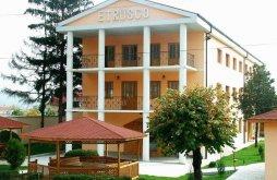 Szállás Fălcușa, Etrusco Hotel