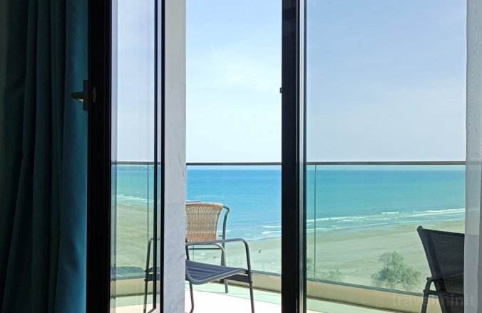 With the view Apartment Mamaia Nord