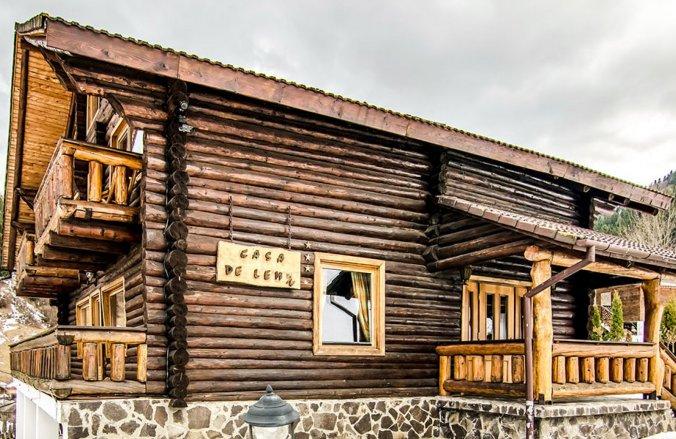 Vila de lemn Cheia