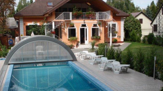 Medencés Balatonboglári Apartments Balatonboglar