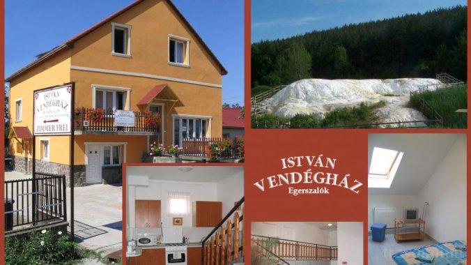 István Guesthouse Egerszalók